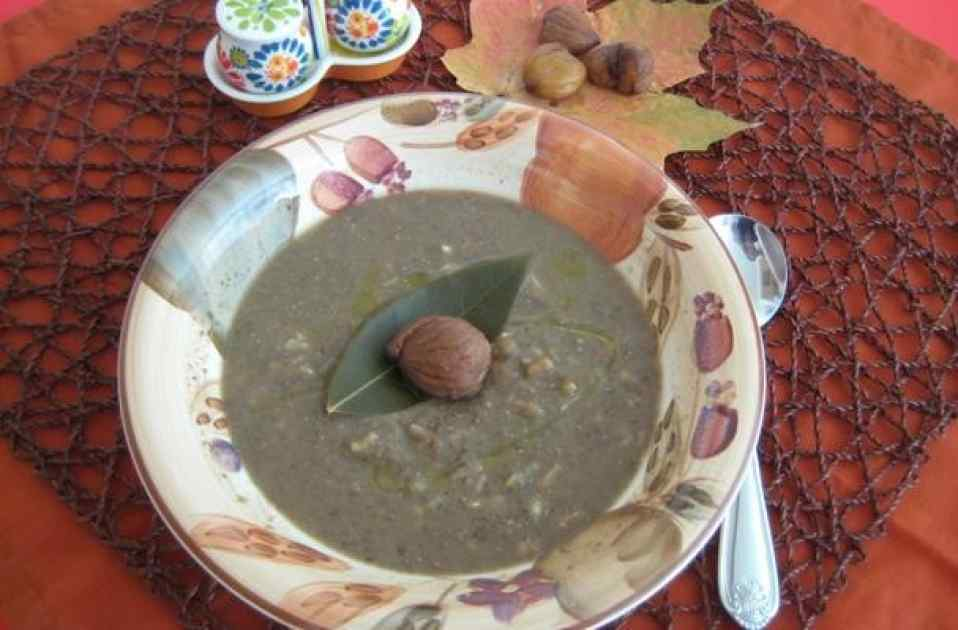 Delicious Creamy Lentils and Chestnuts