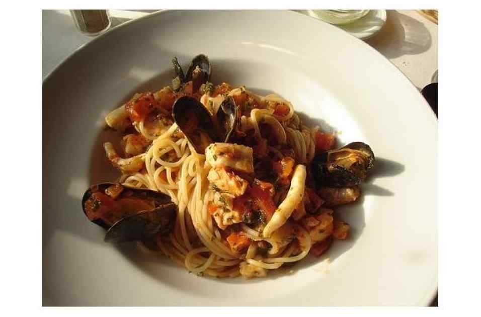 Pasta and Seafood Recipe