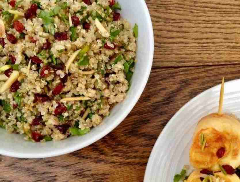 Quinoa Salad with Barberries & Nuts Recipe