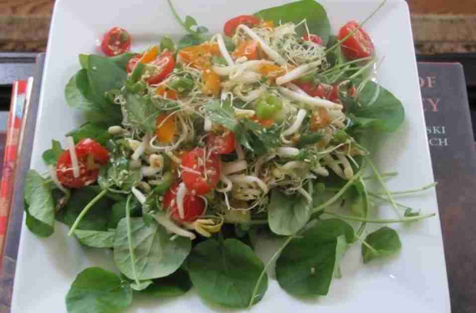 Watercress Salad With Miso-Lime Dressing Recipe