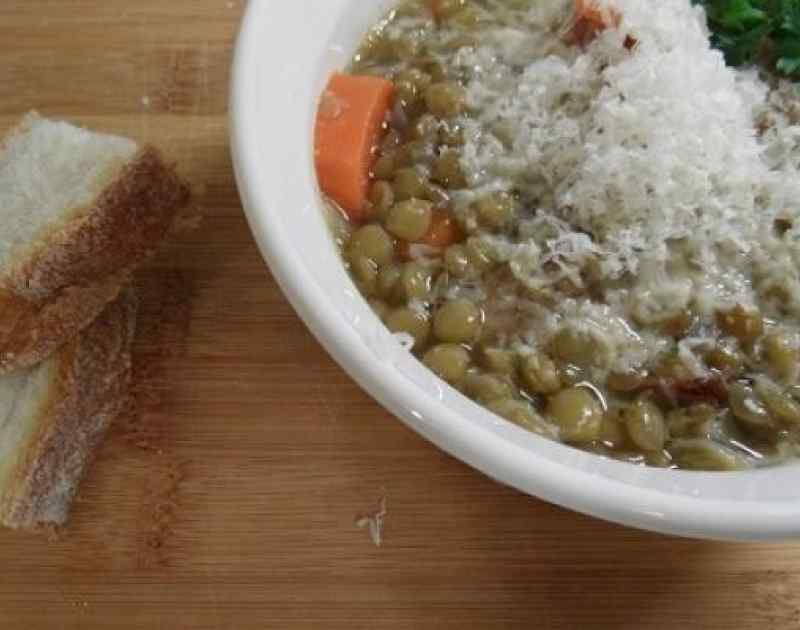 Lentil Soup with Smoked Turkey Recipe
