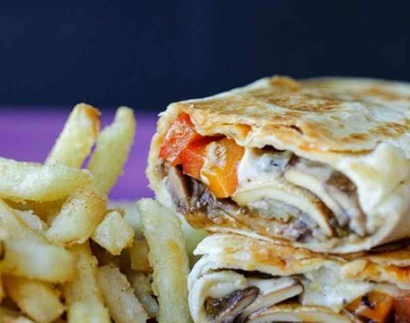 Philly Cheesesteak Grilled Wraps Recipe