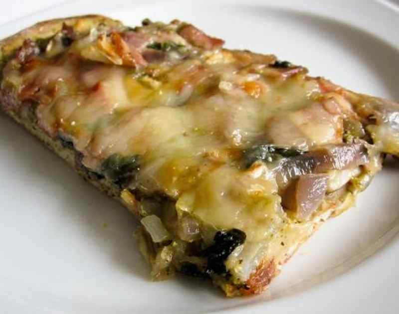 Caramelized Onion and Bacon Pizza Recipe