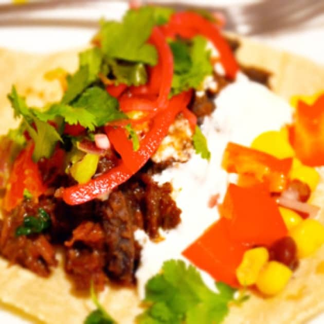 Mexican Braised Beef Tacos Recipe